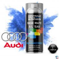 Bombe de peinture Audi base mate à l'eau