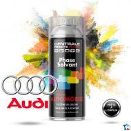 Bombe de peinture Audi base solvantée