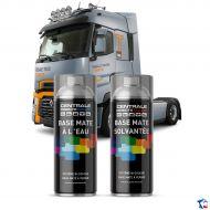 Bombe de peinture camion à vernir - Base eau et solvantée