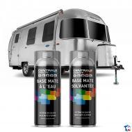 Bombe de peinture caravane à vernir - Base eau et solvantée