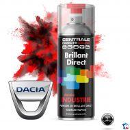 Bombe peinture Dacia brillant direct 2K