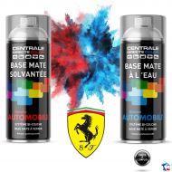 Bombe de peinture Ferrari base à vernir