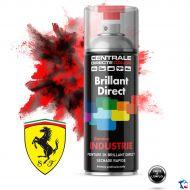 Bombe peinture Ferrari brillant direct 2K
