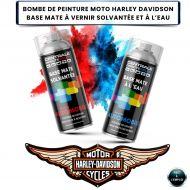 Bombe de peinture Harley Davidson base à vernir