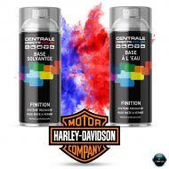 Bombe de peinture Harley davidson tri-couche  base mate