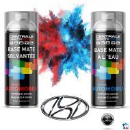 Bombe de peinture Hyundai base à vernir