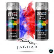 Bombe de peinture Jaguar base mate tricouche à vernir