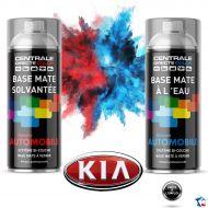 Bombe de peinture Kia base à vernir