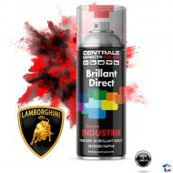 Bombe peinture Lamborghini brillant direct 2K