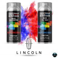 Bombe de peinture Lincoln base mate tricouche à vernir