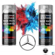 Bombe de peinture Mercedes base à vernir