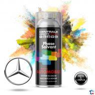 Bombe de peinture Mercedes base solvantée