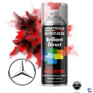 Bombe peinture Mercedes brillant direct 2K