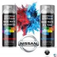 Bombe de peinture Nissan base à vernir