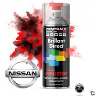 Bombe peinture Nissan brillant direct 2K