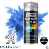 Bombe de peinture Peugeot base mate à l'eau