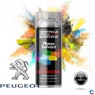 Bombe de peinture Peugeot base solvantée
