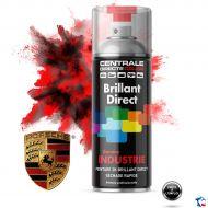 Bombe peinture Porsche brillant direct 2K