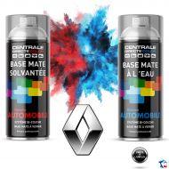 Bombe de peinture Renault base à vernir