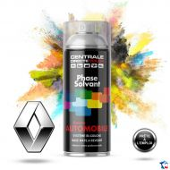 Bombe de peinture Renault base solvantée