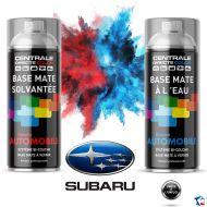 Bombe de peinture Subaru base à vernir