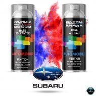 Bombe de peinture Subaru base mate tricouche à vernir