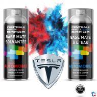 Bombe de peinture Tesla base à vernir