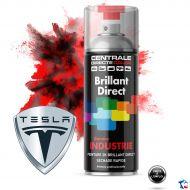 Bombe peinture Tesla brillant direct 2K
