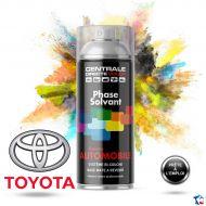 Bombe de peinture Toyota base solvantée