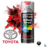 Bombe peinture Toyota brillant direct 2K