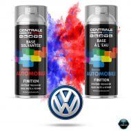 Bombe de peinture Volkswagen base mate tricouche à vernir