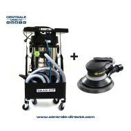 Centrale aspirante complète  Black Jet + ponceuse pneumatique