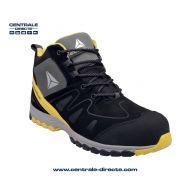 Chaussure haute de sécurité MANHATTAN - noir/jaune