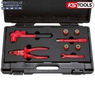 Coffret d'outils 3/8 isolés Ks Tools pour véhicules électriques PSA