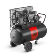 Compresseur mono-étagé entraînement courroie 90L à PISTONS