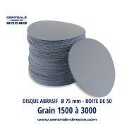 Disque abrasif auto-agrippant Ø75 mm G1500 au G3000 - DMTXS
