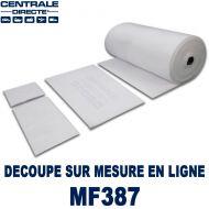 Filtre Plenum pour plafond cabine peinture à la découpe 180 g/m²
