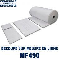 Filtre Plenum pour plafond cabine peinture à la découpe 300 g/m²