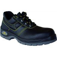 Chaussures basses de sécurité cuir croûte velours et mesh