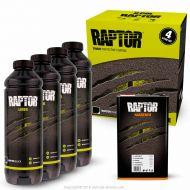 Kit Peinture Raptor liner noir 4L