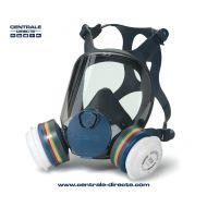 Masque respiratoire réutilisable à cartouches interchangeables EasyLock®