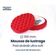 Mousse de lustrage alvéolée - ultra soft - Ø 150mm