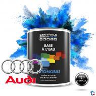 Peinture voiture Audi base mate à l'eau
