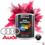 Peinture Audi base mate solvantée en pot