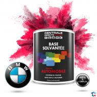 Peinture BMW base mate solvantée en pot