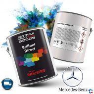 Peinture camion Mercedes brillant direct - Poids lourd