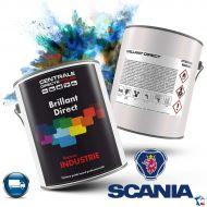 Peinture camion Scania brillant direct - Poids lourd