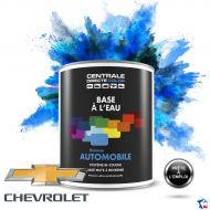 Peinture voiture Chevrolet base mate à l'eau