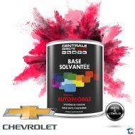 Peinture Chevrolet base mate solvantée en pot
