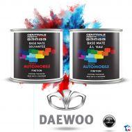 Peinture Daewoo base mate tricouche à vernir